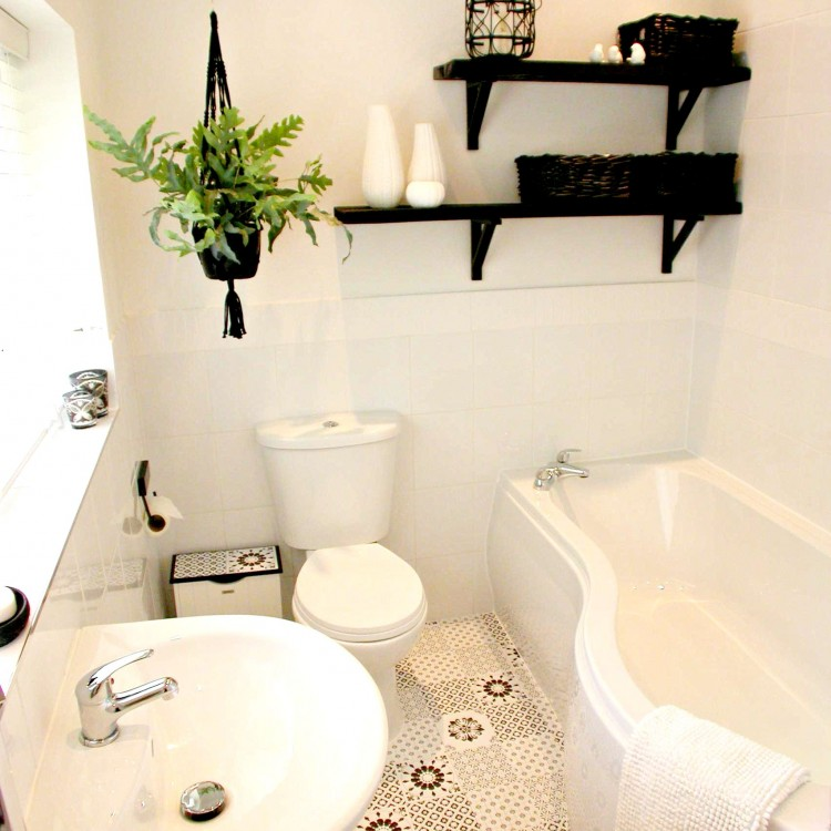 Three Interiors Budget bathroom