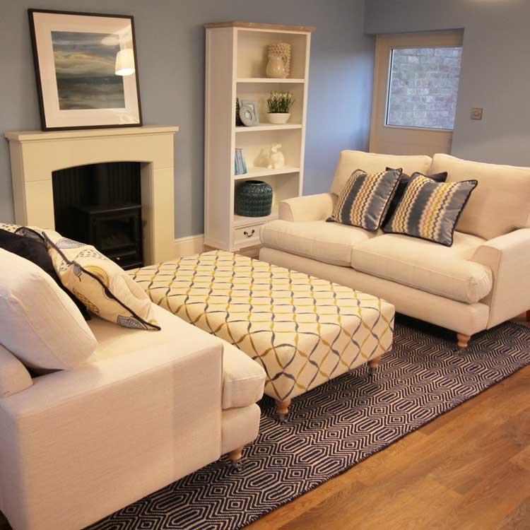 Lounge Cheshire Show Home Three Interiors