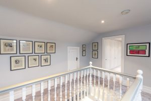 """""""A landing area with gallery wall"""""""