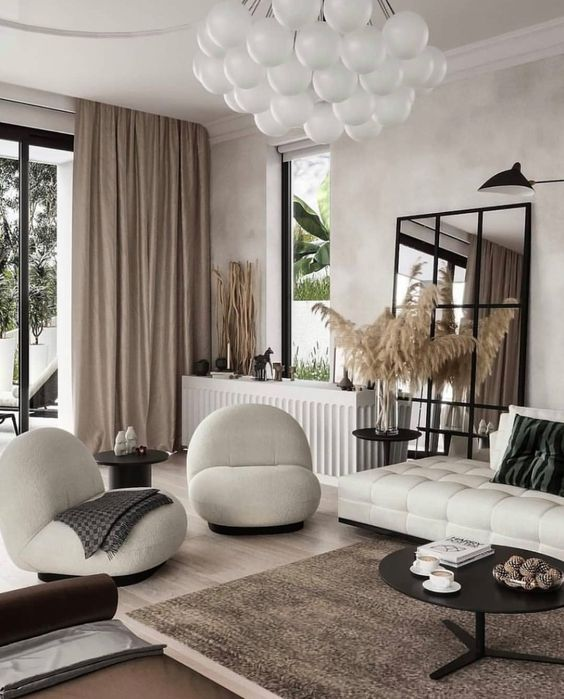 Lounge room in modern style