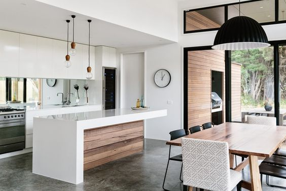light filled kitchen space