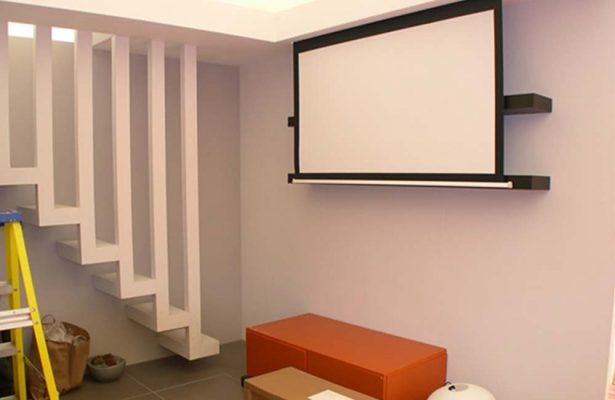 Cinema-screen-and-lighting